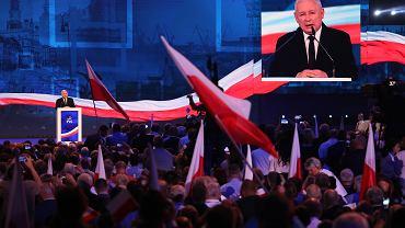 Konwencja Samorządowa PiS - wystąpienie Jarosława Kaczyńskiego