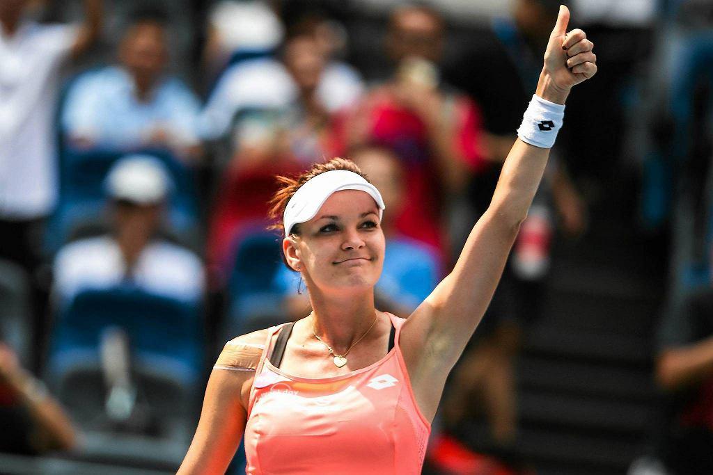 Zdjęcie numer 1 w galerii - WTA Wuhan. Agnieszka Radwańska łatwo pokonała Makarową