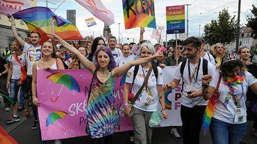 I Marsz Równości w Szczecinie