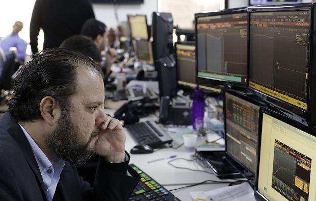Makler giełdowy w Brazylii