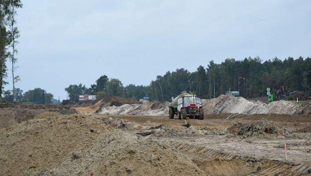Budowa drogi ekspresowej S17 - obwodnica Kołbieli
