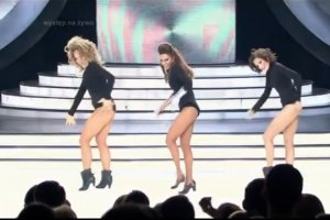Prawie uwierzyli�my, �e to Beyonce. Paschalska rusza si� zupe�nie jak ona!