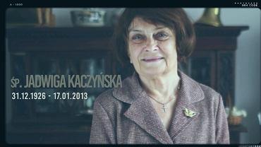 Spot poświęcony rocznicy śmierci Jadwigi Kaczyńskiej