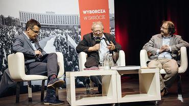 Spotkanie z Adamem Michnikiem w Europejskim Centrum Solidarności w Gdańsku