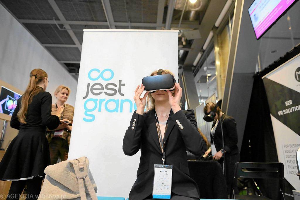 European VR Congress w 2016 r w Warszawie / Agata Grzybowska / Agencja Gazeta