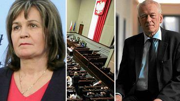 """Burzliwy dzień w Sejmie. Głosowanie """"na cztery ręce"""" podczas wyboru sędziego TK"""