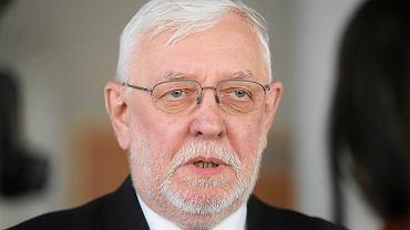 Prof. Jerzy Stępień, były prezes Trybunału Konstytucyjnego