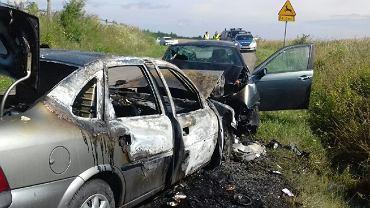 Wypadek w miejscowości Olszanka