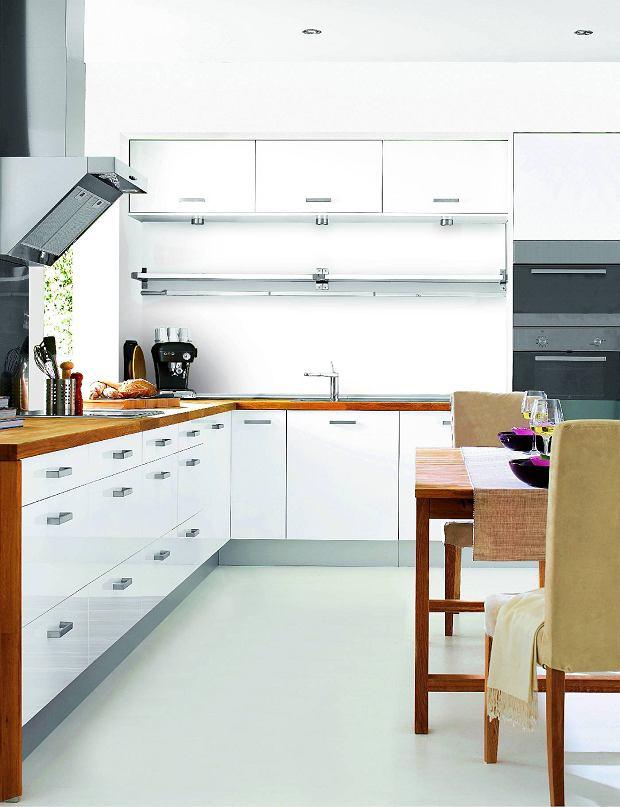 Biała Kuchnia Budowa Projektowanie I Remont Domu Zakładanie