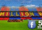 FC Barcelona pierwszym klubem z 50 mln fan�w na FB