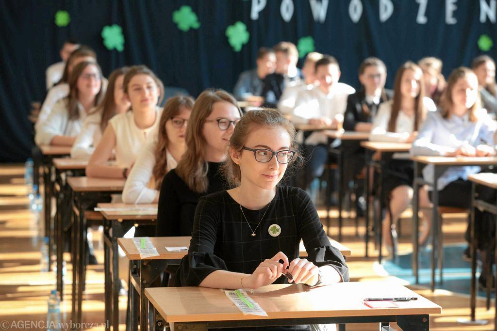 Egzamin gimnazjalny. Uczniowie mieli problem z jednym pytaniem