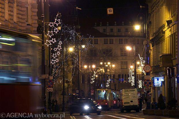 14.12.2014 Bydgoszcz . Iluminacje swietlne w miescie .  Fot. Grazyna Marks / Agencja Gazeta