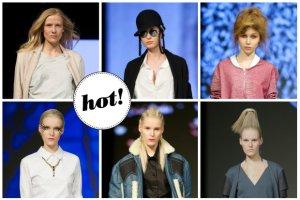 Fashion Week Poland: Neony na ustach i powiekach, futurystyczne kucyki, ale i morning beauty. Przygl�damy si� fryzurom i makija�om z ��dzkich wybieg�w
