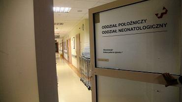 Oddział położniczy w szpitalu na ul. Kamieńskiego