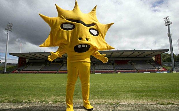 Zdjęcie numer 0 w galerii - Kingsley z Partick Thistle i inne najstraszniejsze sportowe maskotki [ZDJĘCIA]