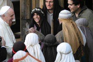 Papież do proboszcza z Rzymu: Jesteś szalony, ale to podoba się Bogu