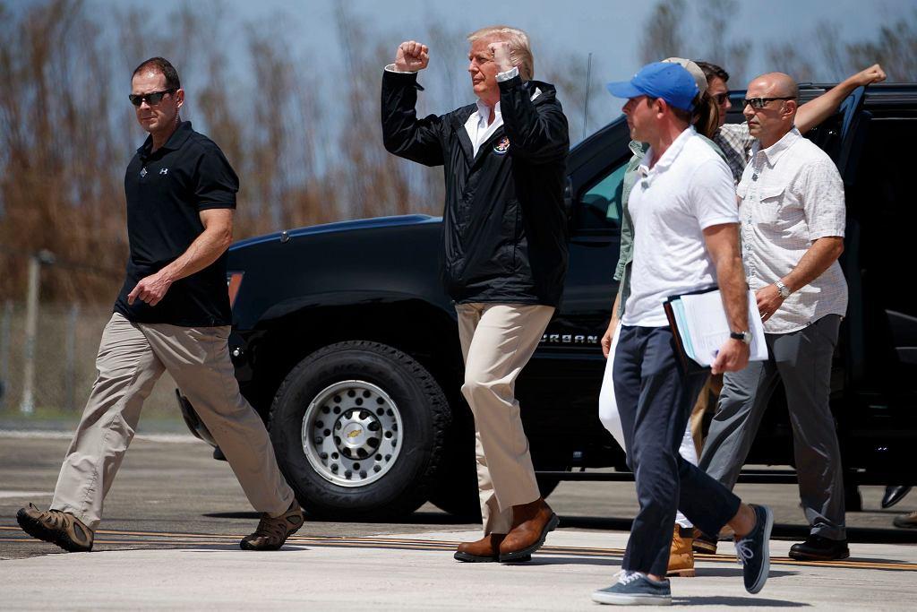 Donald Trump w Portoryko