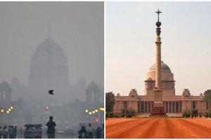 Najgorszy smog jest w Pekinie? Nie, jest takie miasto, gdzie jest gorzej. Jak widać na zdjęciach