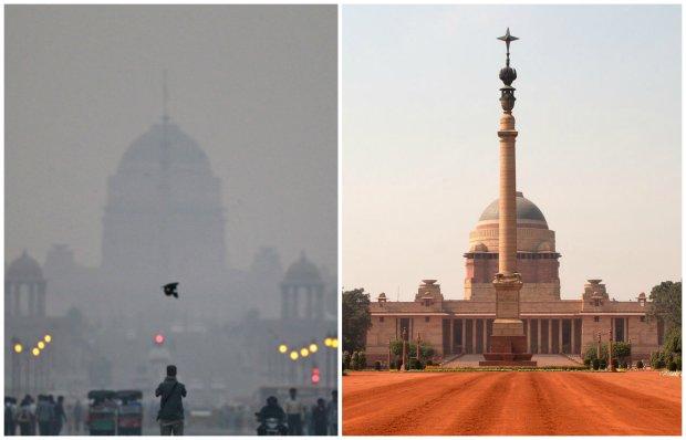 Najgorszy smog jest w Pekinie? Nie, jest takie miasto, gdzie jest gorzej. Jak wida� na zdj�ciach