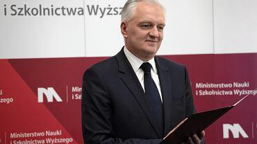 Jarosław Gowin kibicuje planom zmiany konstytucji w tej kadencji rządu