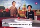 Rosyjska telewizja kpi z Grzegorza Schetyny: karykatury, przydomki i filmowanie z ukrycia