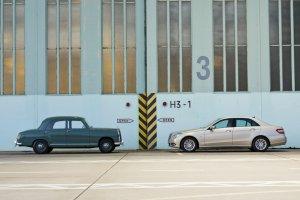 Mercedes Klasy E w liczbie ponad 13 milion�w egzemplarzy