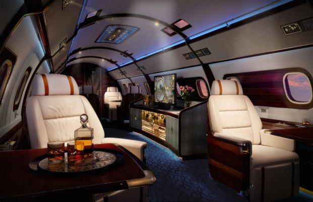 Skyacht One to najbardziej luksusowy prywatny odrzutowiec na świecie