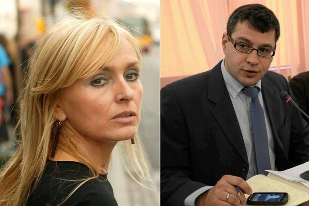 Monika Olejnik i Jacek Karnowski