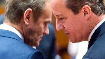 Tusk negocjuje z Cameronem: Wielka Brytania ma zostać w Unii. Za to ograniczy zasiłki dla imigrantów