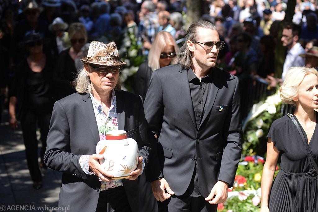 Pogrzeb Kory na Powązkach w Warszawie