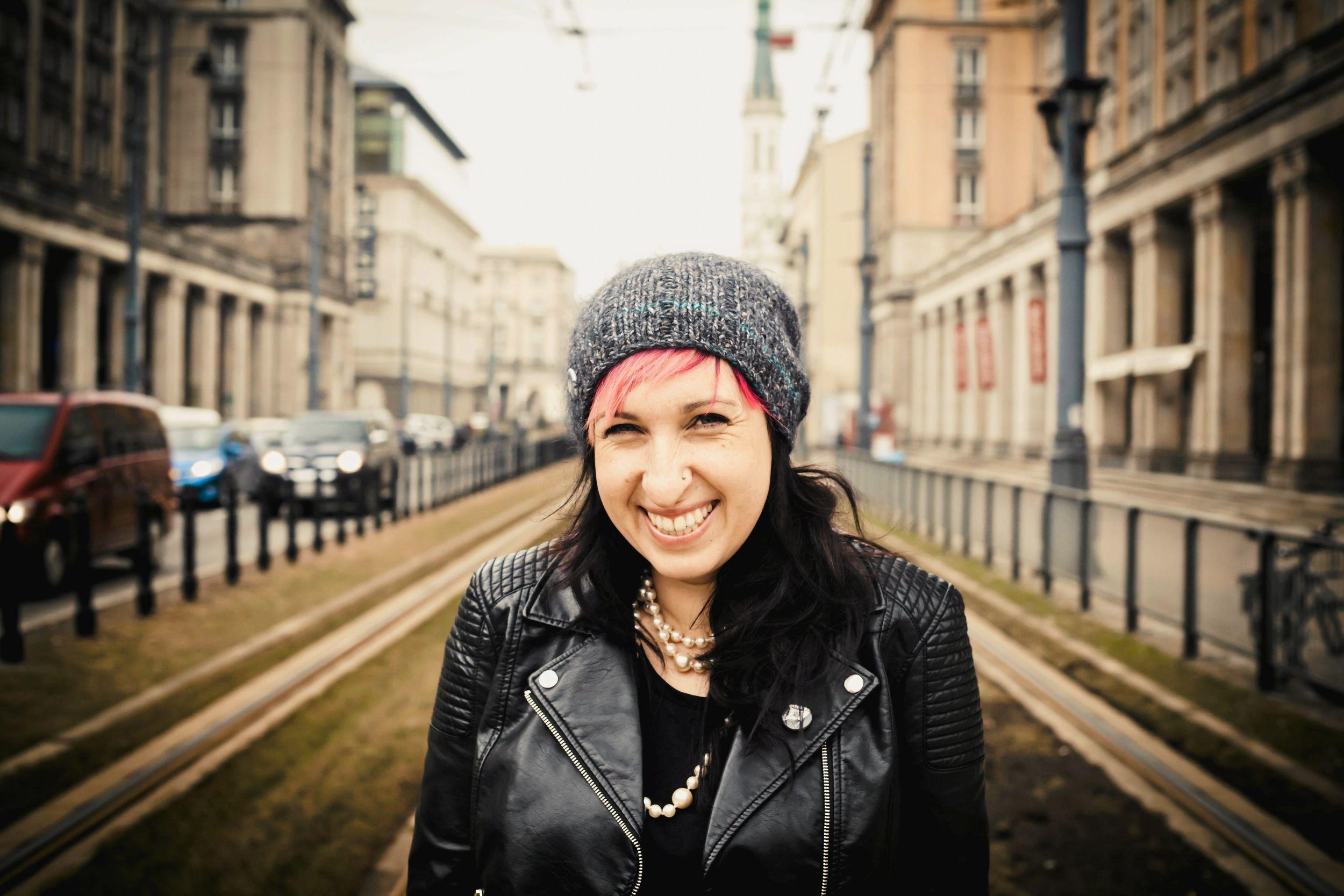 Sylwia Chutnik (fot. Albert Zawada / Agencja Gazeta)
