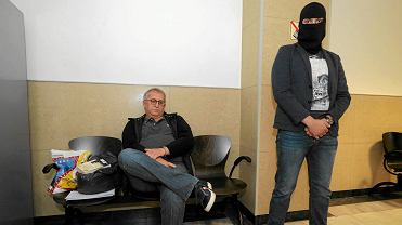 Krzysztof Jałosiński podczas posiedzenia aresztowego szczecińskiego sądu