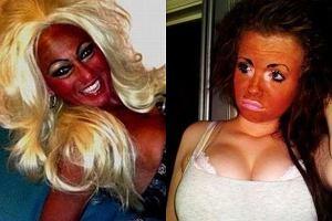One przesadzi�y z makija�em