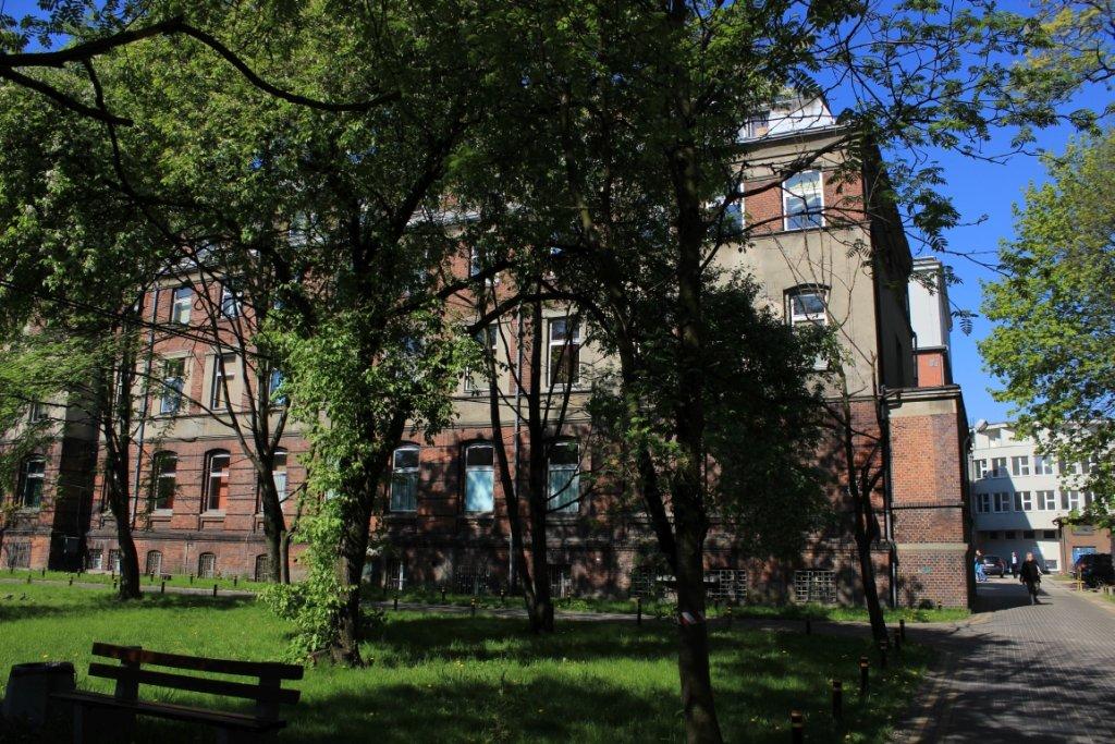 Szpital w Bytomiu (fot. Michał Gostkiewicz)
