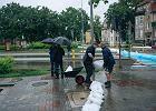 Zagrożenie powodziowe w Gdańsku! Wylało na Oruni, niebezpiecznie we Wrzeszczu. Komunikaty o sytuacji [NA ŻYWO]
