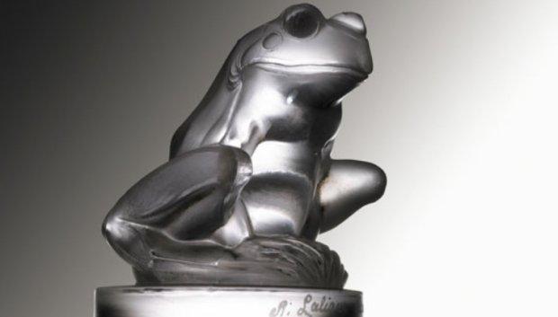 Figurka Żaby Rene Lalique