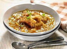 Zupa cebulowo-czosnkowa na pilznerze - ugotuj