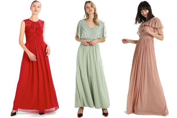 Sukienki na wesele długie