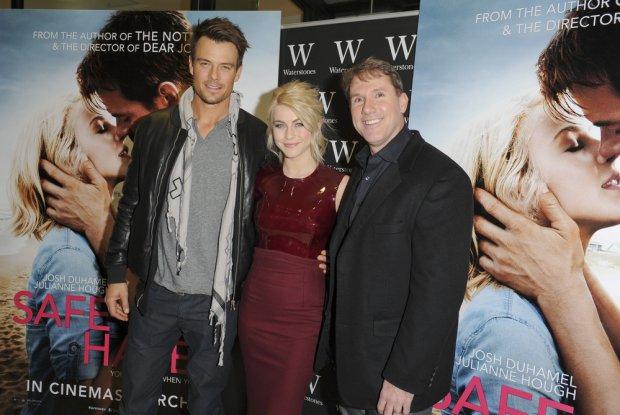 Josh Duhamel, Julianne Hough i Nicholas Sparks
