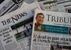 """Pow�ci�gliwi i ostro�ni - ameryka�skie media po zamachu na """"Charlie Hebdo"""""""