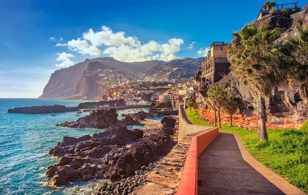 Promenada biegnąca z Funchal na Maderze