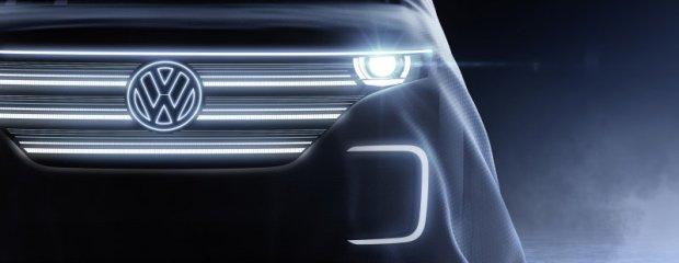 Zapowiedź VW Microbus EV na CES 2016