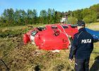 Wypadek śmigłowca pod Słupskiem. Są pierwsze ustalenia komisji