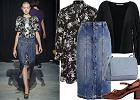 Jeansowa spódnica - stylizacja