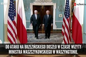 """""""To zacietrzewienie i amatorszczyzna"""" - Sikorski o ataku polskiej ambasady na prof. Brzezińskiego"""
