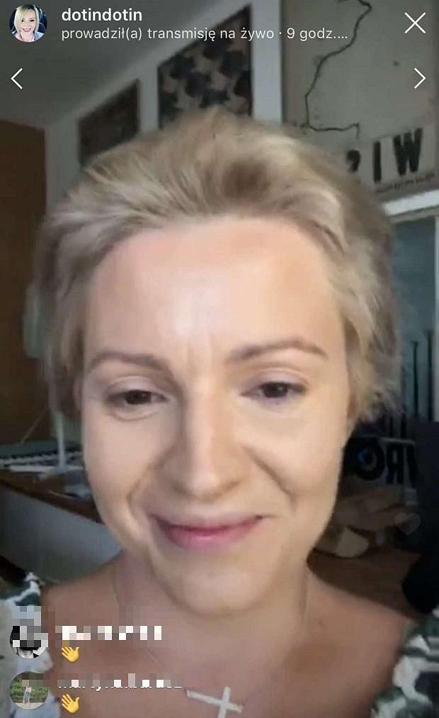 Dorota Szelągowska bez makijażu