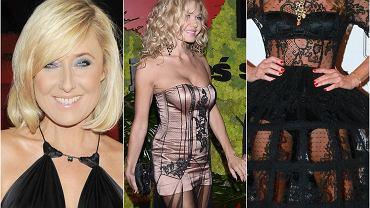 """Kasia Wołejnio, jedna z uczestniczek reality show """"Żony Hollywood"""", wywołała ostatnio niemałą sensację, gdy na elegancki Bal TVN-u ubrała się w suknię rodem z burleski. Nie tylko ona popełniła ten błąd.  Tym gwiazdom zdecydowanie nie udzielił się duch wielkiej, eleganckiej gali, a bal lub inne wysokiej rangi wydarzenie pomyliły z klubem ze striptizem. Zobaczcie, jak się ubrały."""