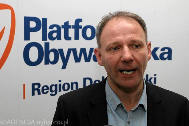 Jacek Protasiewicz rezygnuje z szefowania kampanii PO