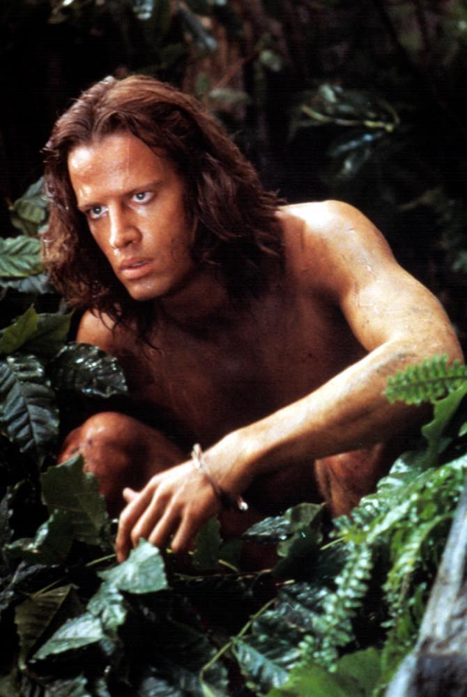 'Greystoke: legenda Tarzana, władcy małp', Christopher Lambert / mat. promocyjne, kadr z filmu