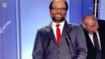 Wiceminister kultury Paweł Lewandowski